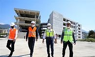 Alanya Belediyesi yeni hizmet binasında geri sayım sürüyor