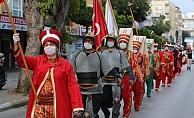 Alanya'da 23 Nisan'a mehterli kutlama