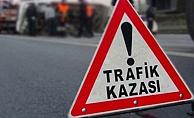 Alanya'da korkutan kaza: Motosiklet sürücüsü yola savruldu