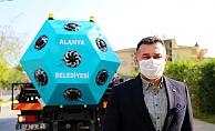 Alanya'da koronavirüs ile mikronsis cihazı mücadele edecek