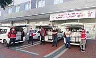 Alanya Sosyal Hizmetler, yardımları vatandaşlara ulaştırıyor