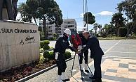 Alanya'da polisten sade tören