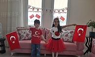 Alanyalı çocuklardan 23 Nisan hazırlığı