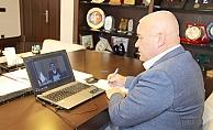 Başkan Şahin, Hisarcıklıoğlu ile sorunları ve çözüm yollarını konuştu
