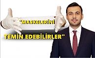 Başkan Toklu'dan maske açıklaması
