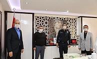 Başkan Yücel'den Müdür Avcı'ya ziyaret