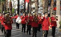 Büyükşehir'in bandosu bugün Alanya'da