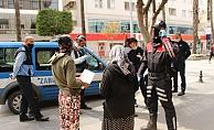 Kavga eden dilenciler polise yakalandı