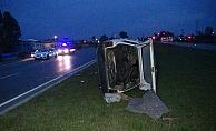 Kaza yapan sürücüye sokağa çıkma yasağını ihlalden 3 bin 150 TL ceza