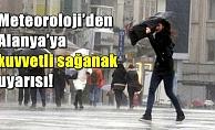 Meteoroloji Alanya'yayı uyardı! Yağmur geliyor