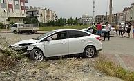 17 yaşındaki ehliyetsiz sürücü yaptığı kazanın ardından kaçtı