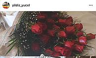 Adem Başkan'dan eşine çiçekli kutlama