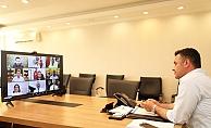 Akdeniz Belediyeleri'nden online toplantı