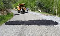 Alanya'da kırsal yollar yaza hazırlanıyor