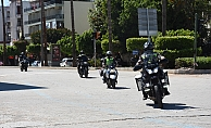 Alanya'da motosiklet tutkunları Kızılay'a umut oldu