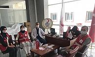 Alanya Kızılay'dan hastane personeline destek
