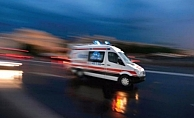 Alanya'da kamyonetin çarptığı şahıs yaralandı
