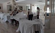 """Antalya'da """"temassız tatil"""" hazırlıkları tamamlandı"""