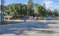 Koronaya yakalanan anne ve kızın yaşadığı mahalle karantinaya alındı