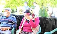 Şehit annesi göz yaşlarına hakim olamadı