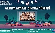 Alanya'da arabalı sinema için rezervasyonlar başladı