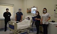 Alanya'da kalp pili işlemi yapılmaya başlandı