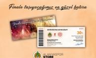Alanyaspor'dan hatıra bilet kampanyası