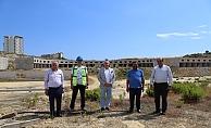 Başkan Şahin, Hal inşaatını inceledi