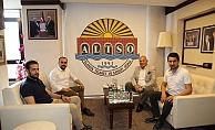 Demirağ'dan Başkan Şahin'e ziyaret
