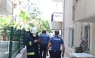 İlaçlama dumanının yangın zannetti, polisi alarma geçirdi