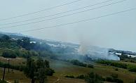 Makilik alanda yangın!