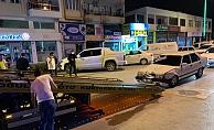 Polisten kaçtı, kaza yapıp yakalandı