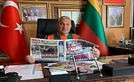 Şahin'den Başkan Çavuşoğlu'na tebrik!