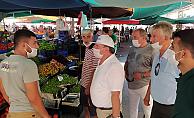 Alanya CHP'den pazar turu
