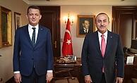 Alanya Kaymakamı'ndan Bakan Çavuşoğlu'na ziyaret