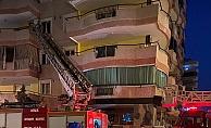 Alanya'da apartman dairesinde yangın paniği!
