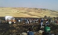 Yangında traktörünü kurtarmak isterken hayatını kaybetti