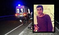Alanya'da motosiklet elektrik direğine çarptı: 1 ölü, 1 yaralı