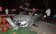 Alkollü sürücünün dehşet saçtığı anlar güvenlik kamerasında