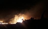 Kırsal alanda yangın paniği!