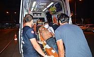 Sokakta bıçaklanmış halde bulundu