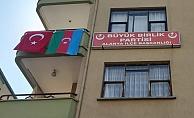 Alanya BBP'den Azerbaycan'a destek