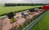 Alanya Belediyesi kompleks park yapıyor