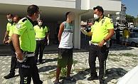 Alanya'dan çaldığı otomobille Manavgat'ta kaza yapan genç alkollü çıktı