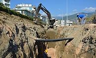Alanya'da kanalizasyon sorunu kökten çözülüyor