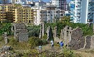 Alanya'da Naula Antik Kenti gün yüzüne çıkıyor
