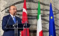 Bakan Çavuşoğlu Roma'da konuştu: Ermenistan çekilsin!