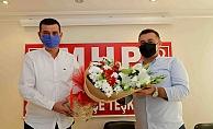 Başkan Yücel'den MHP'ye ziyaret