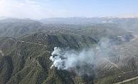 Gündoğmuş'taki orman yangın kısmen kontrol altına alındı