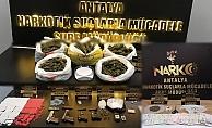 Polisten geniş kapsamlı uyuşturucu operasyonu